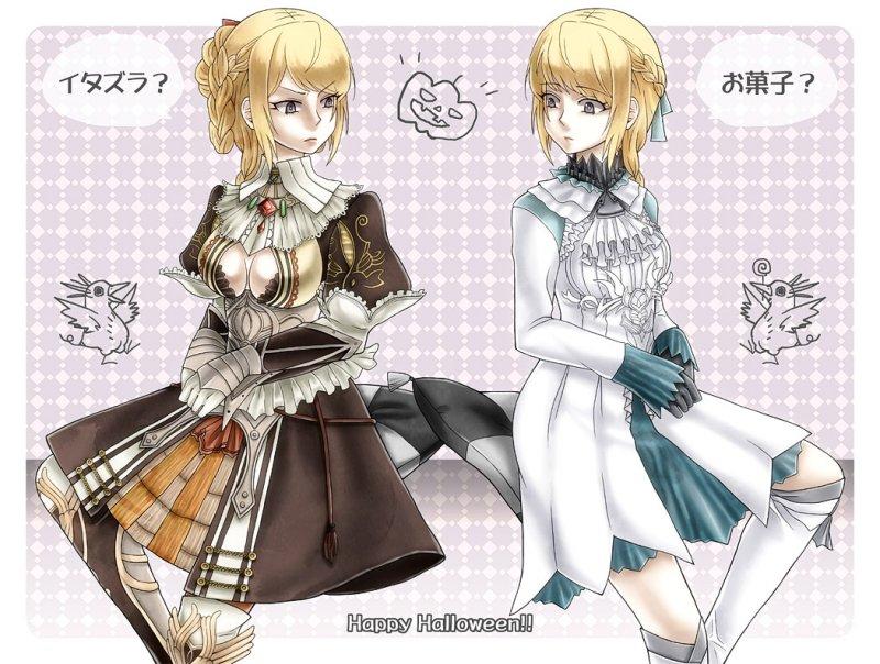 ガブリエラ姫とヴァレリア