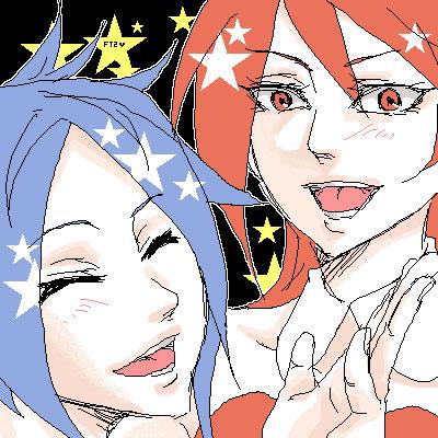 リコとサラ